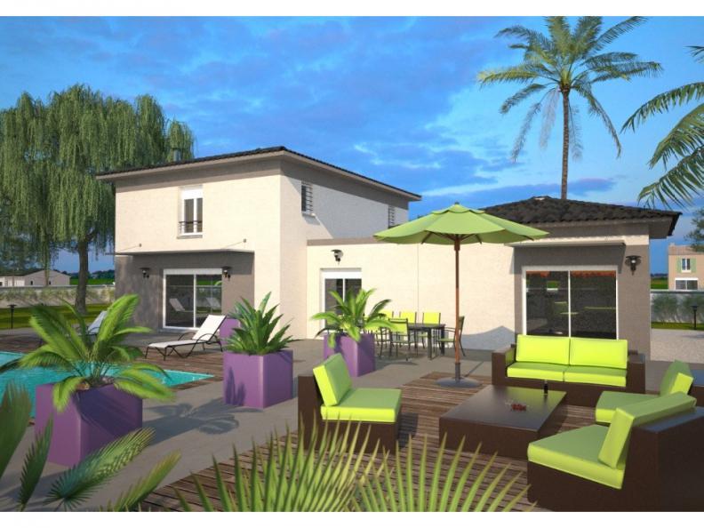 Modèle de maison La Villa 170 Elégance : Vignette 1