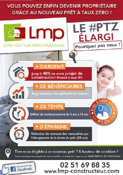 PROPRIETAIRE LMP CONSTRUCTEUR