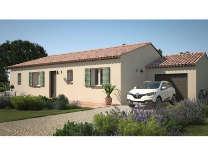 Modèle de maison Amandine GA V1 90 Tradition 3 chambres  : Photo 2