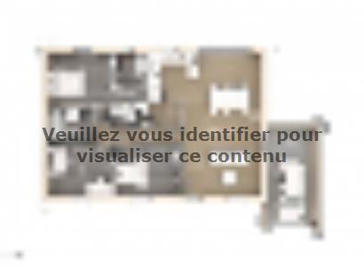 Plan de maison Amandine GA V2 100 Design 3 chambres  : Photo 1