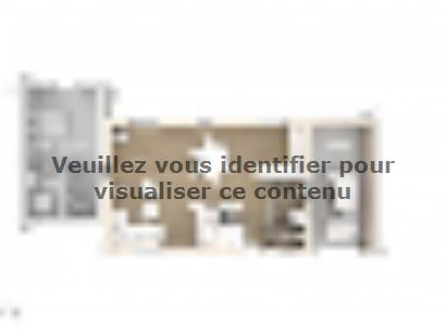 Plan de maison Elodie 100 Design 3 chambres  : Photo 1