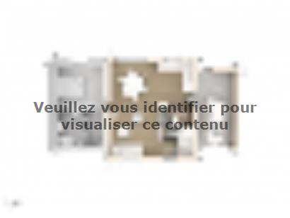Plan de maison Magali 80 Design 3 chambres  : Photo 1