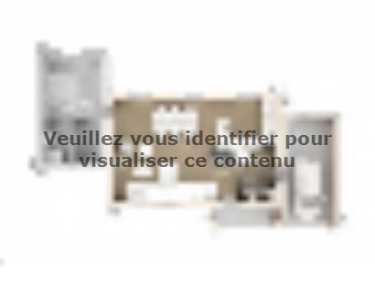 Plan de maison Marie 100 Design 3 chambres  : Photo 1