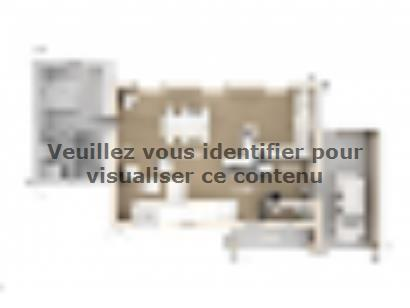 Plan de maison Marie 130 Design 3 chambres  : Photo 1