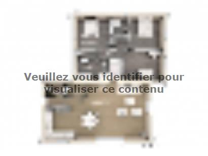 Plan de maison Olivia 110 Tradition 3 chambres  : Photo 1