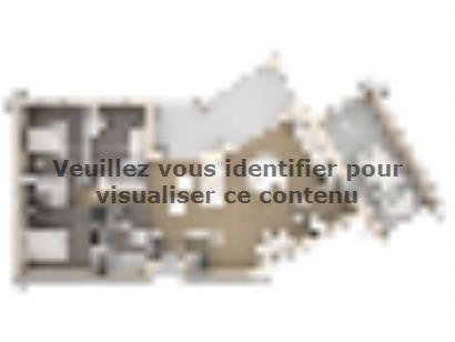 Plan de maison Victoria 90 Design 3 chambres  : Photo 1