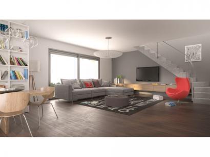 Modèle de maison Cloé 95 Design Toit plat 3 chambres  : Photo 3