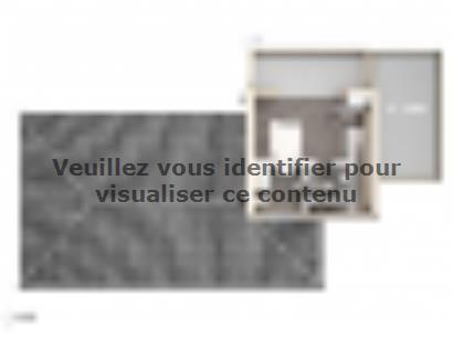 Plan de maison Cloé 150 Design Toit plat 4 chambres  : Photo 1