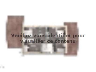 Plan de maison Elodie 100 Design 3 chambres  : Photo 2