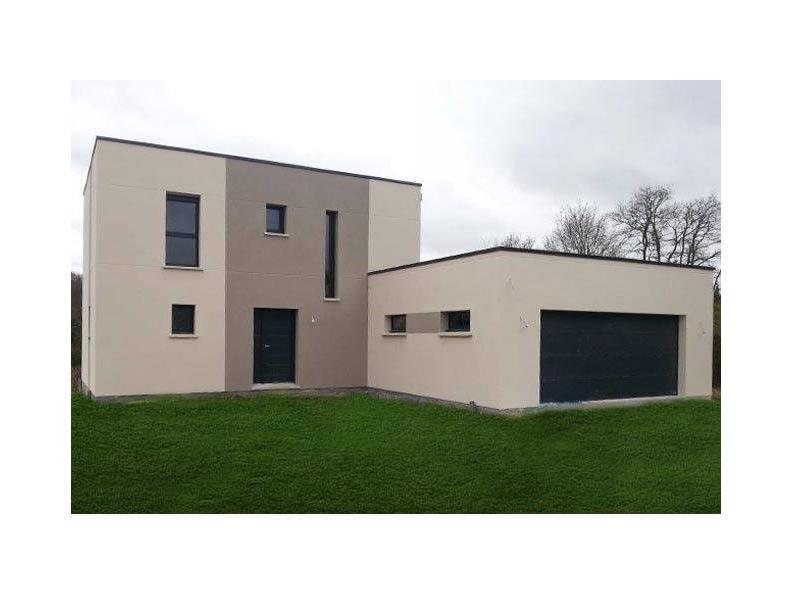 Modèle de maison ETG_TT_GA_119m2_4ch_P5911 : Vignette 1