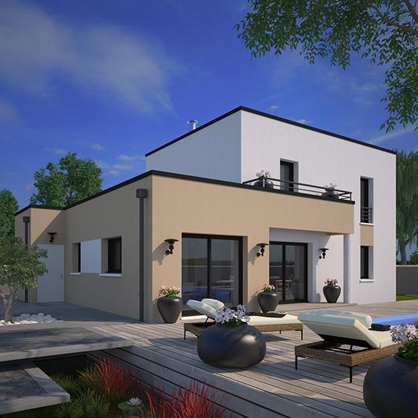 Le modèle Eco-Concept 110 m²