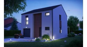 Vue Modèle de maison: CORFOU