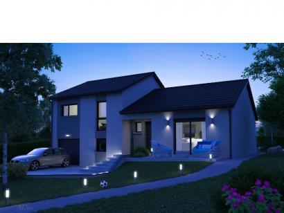 Modèle de maison CRISTAL contemporain 3 chambres  : Photo 1