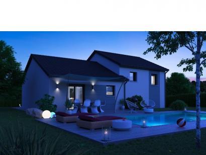 Modèle de maison CRISTAL contemporain 3 chambres  : Photo 2