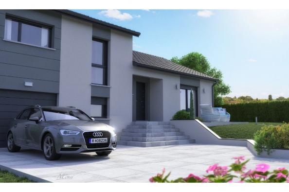 Modèle de maison CRISTAL contemporain 3 chambres  : Photo 5