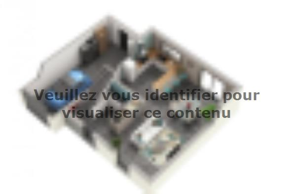 Plan de maison ONYX 3 chambres  : Photo 1