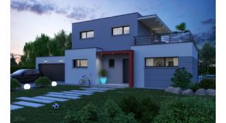 Vue Modèle de maison: PLATINE