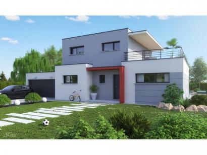 Mod le de maison platine 4 chambres maisons horizon for Modele maison horizon
