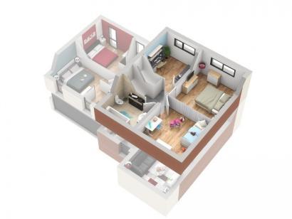 Plan de maison TITANE 5 chambres  : Photo 3