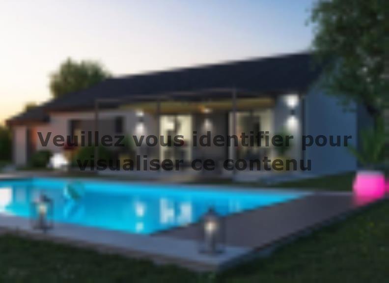 Modèle de maison TURQUOISE VS contemporain : Vignette 2