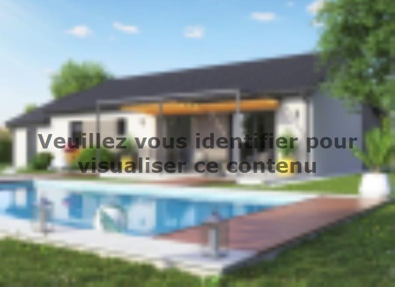Modèle de maison TURQUOISE VS contemporain : Vignette 4