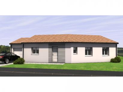 Modèle de maison Avant Projet Falleron 90 m² - 3 Chambres 3 chambres  : Photo 1