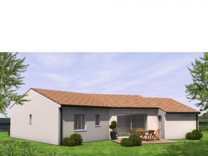 Modèle de maison Avant Projet Falleron 90 m² - 3 Chambres 3 chambres  : Photo 2
