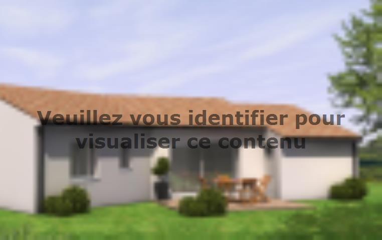 Modèle de maison Avant Projet Falleron 90 m² - 3 Chambres : Vignette 2