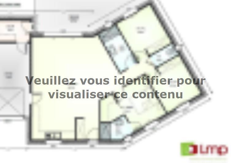 Plan de maison Avant Projet Falleron 90 m² - 3 Chambres : Vignette 1