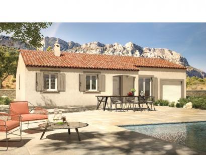 Modèle de maison Aixoise 100 m² 3 chambres  : Photo 1