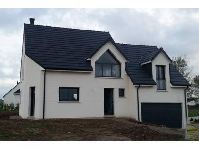 Modèle de maison ETG_DN_GA_134m2_3ch_P7289 3 chambres  : Photo 1