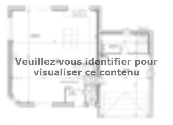 Plan de maison ETG_DN_GA_134m2_3ch_P7289 : Vignette 1