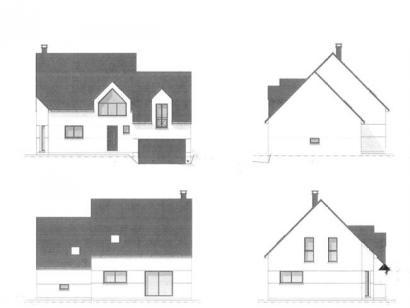 Plan de maison ETG_DN_GA_134m2_3ch_P7289 3 chambres  : Photo 3