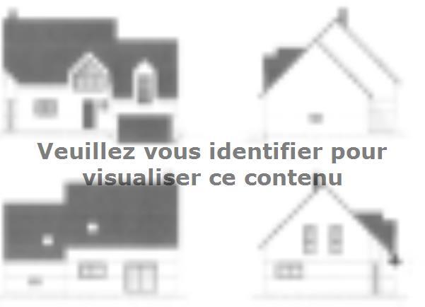 Plan de maison ETG_DN_GA_134m2_3ch_P7289 : Vignette 3
