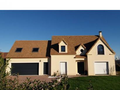 Modèle de maison ETG_R_SG_134m2_4ch_P10634 4 chambres  : Photo 1