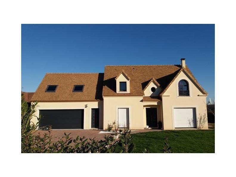 Modèle de maison ETG_R_SG_134m2_4ch_P10634 : Vignette 1
