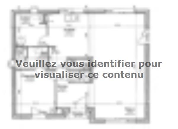 Plan de maison ETG_R_SG_134m2_4ch_P10634 : Vignette 1