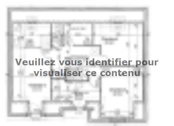 Plan de maison ETG_R_SG_134m2_4ch_P10634 : Vignette 2