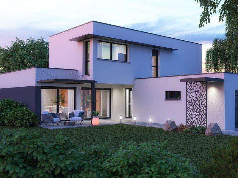 Nos réalisations de maisons design - Maisons Horizon