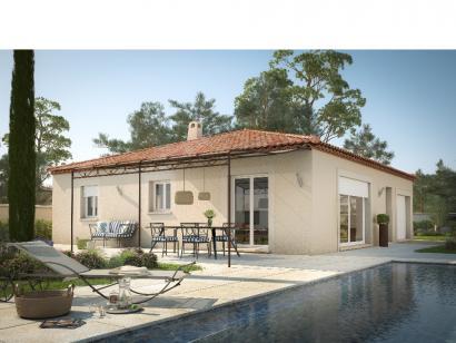 Modèle de maison CASTELLANAISE 98 3 chambres  : Photo 1