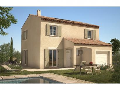 Modèle de maison Gardoise 100 3 chambres  : Photo 1