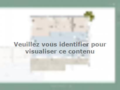 Plan de maison Monegasque 105 3 chambres  : Photo 1