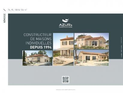 Plan de maison Nimoise 100 4 chambres  : Photo 2