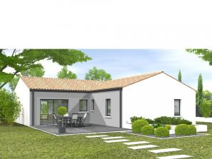 Avant-projet POUZAUGES -90 m² - 3 chambres _Duplic