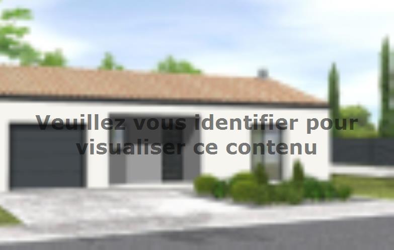 Modèle de maison Avant-projet POUZAUGES -90 m² - 3 chambres _Duplic : Vignette 2