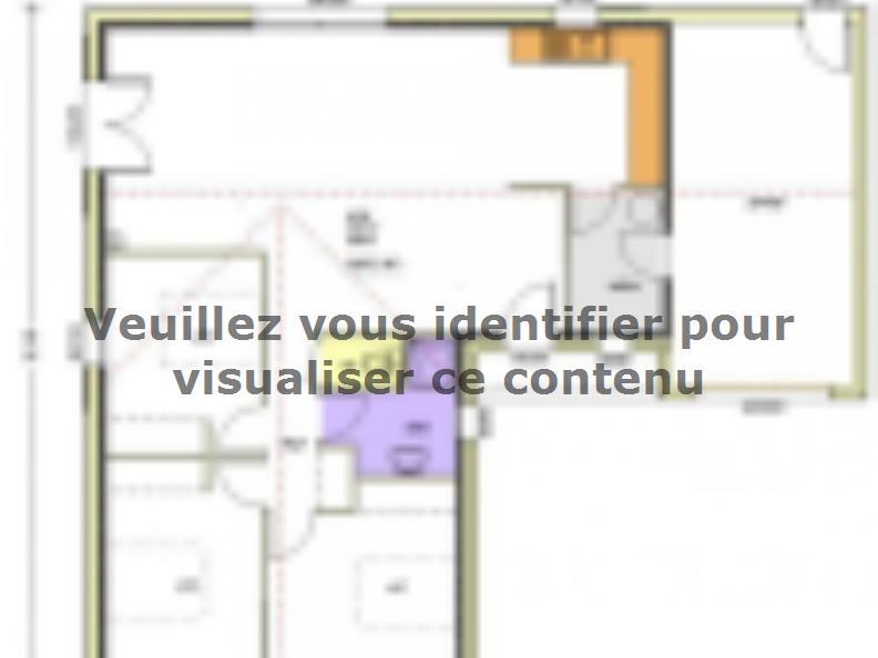 Plan de maison Avant-projet POUZAUGES -90 m² - 3 chambres _Duplic : Vignette 1