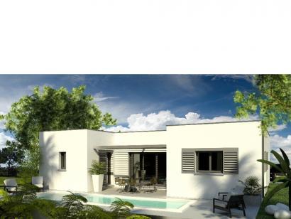 Modèle de maison Maison 110m2 - 3CH - (PP AN 122911016) 3 chambres  : Photo 1