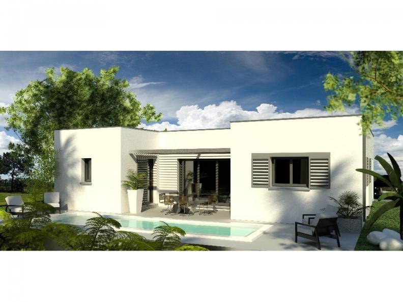 Modèle de maison Maison 110m2 - 3CH - (PP AN 122911016) : Vignette 1