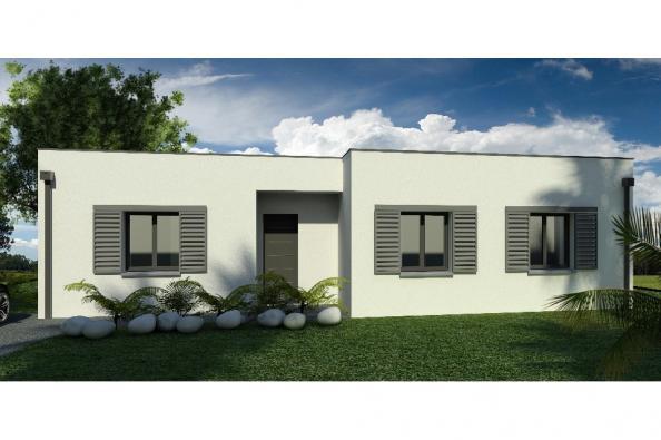 Modèle de maison Maison 110m2 - 3CH - (PP AN 122911016) 3 chambres  : Photo 2