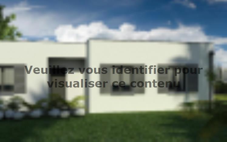 Modèle de maison Maison 110m2 - 3CH - (PP AN 122911016) : Vignette 2